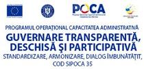 SIPOCA 35 – Guvernare transparenţă deschisă şi participativă